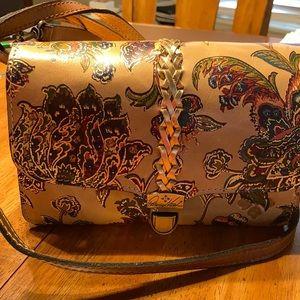 Patrica Nash Crossbody leather handbag